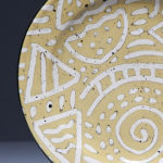 Carved Yellow. Available in 8 and 12 inch plates, bowls, cups, and tumblers.<br> Available in 14 other colors.